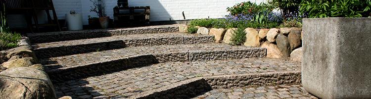 Eksempel på Brolægning til Privat på Fyn, Odense, Svendborg